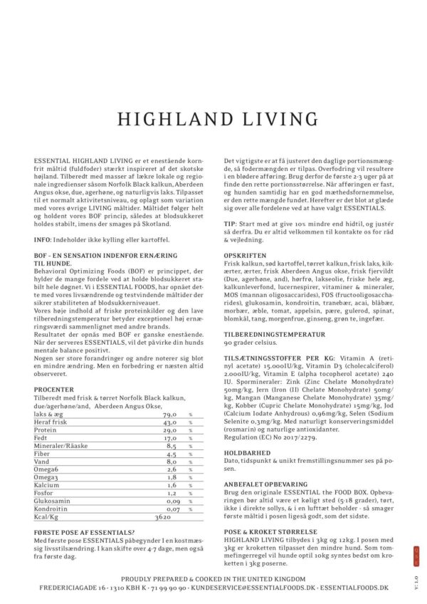 12KG ESSENTIAL HIGHLAND LIVING 1