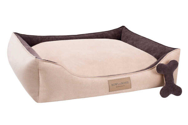 BOWL AND BONE HUNDESENG 'CLASSIC' BRUN 1