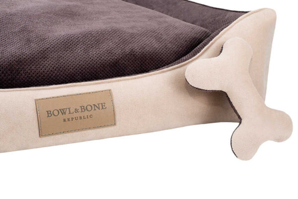 BOWL AND BONE HUNDESENG 'CLASSIC' BRUN 2