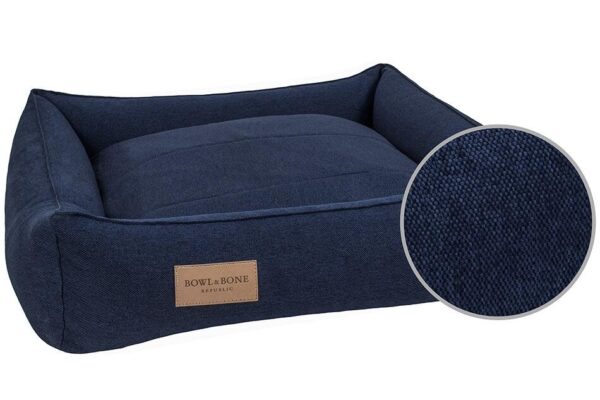 BOWL AND BONE HUNDESENG 'URBAN' NAVY 3