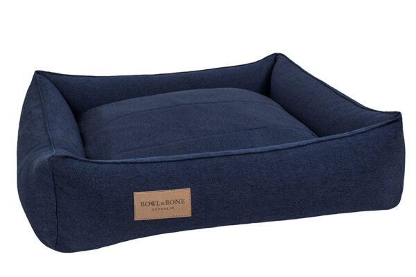 BOWL AND BONE HUNDESENG 'URBAN' NAVY 1